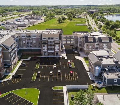 Luxury apartments at Pinnacle North Apartments in Canandaigua, New York