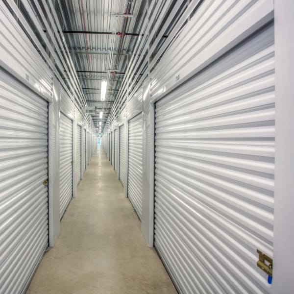 Climate-controlled interior units at StorQuest Self Storage in Greenwood Village, Colorado