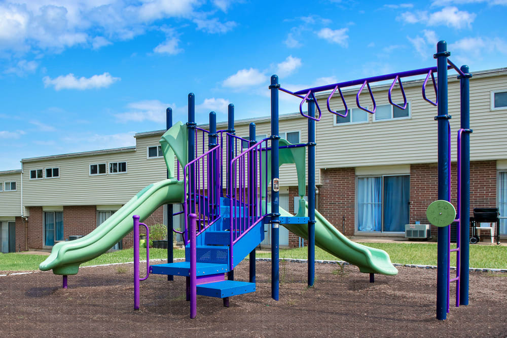 Fontana Village offers a great for entertaining playground in Rosedale, Maryland