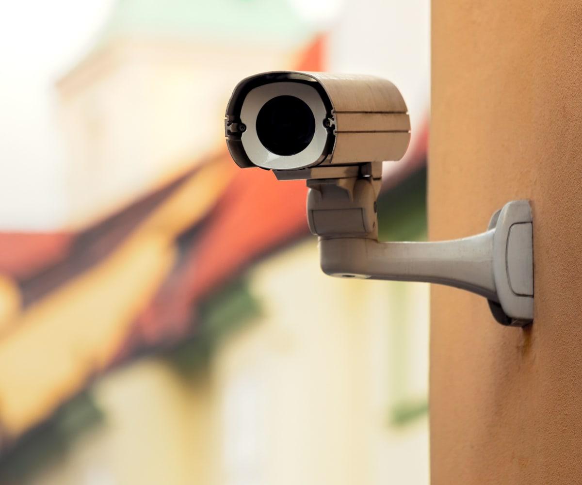 Video surveillance at Devon Self Storage in Fort Worth, Texas