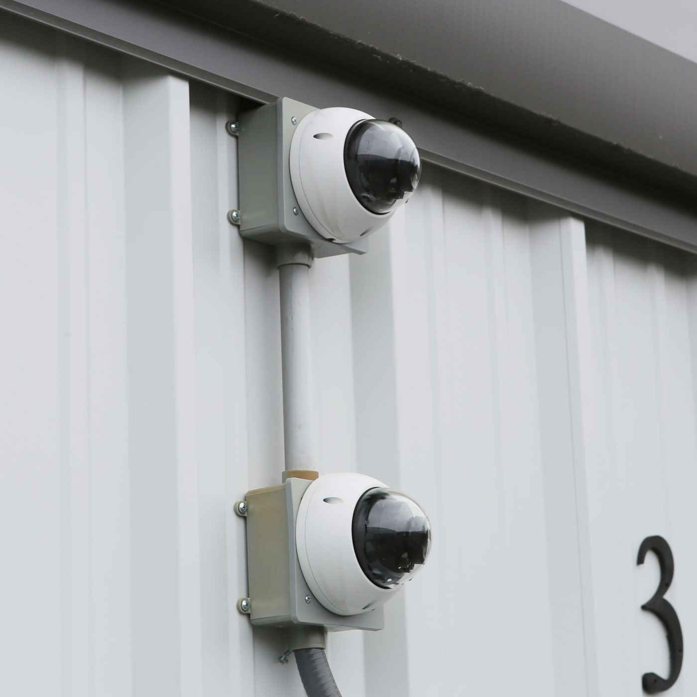 Security camera at Midgard Self Storage in Lake Wylie, South Carolina