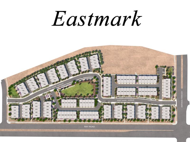 BB Living at Eastmark site plan