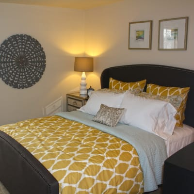Beautiful bedroom at Riverview Townhomes in Halethorpe, MD