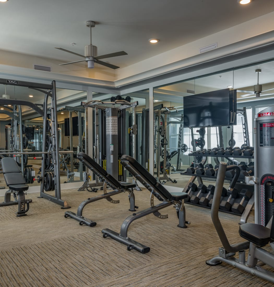 Community amenities at BluWater Apartments in Jacksonville Beach, Florida