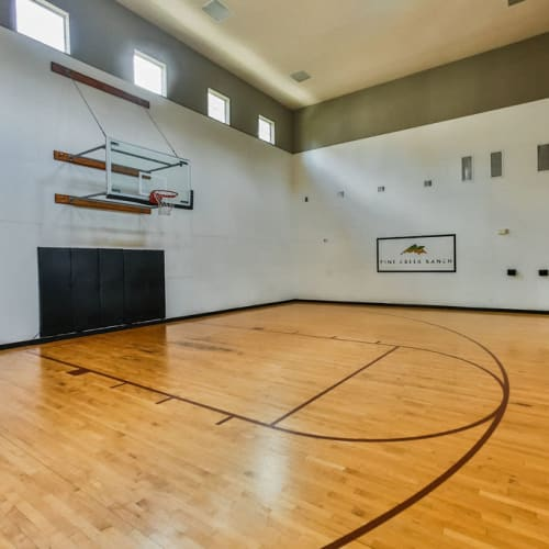 Basketball Court tour at Stone Creek at The Woodlands in The Woodlands, Texas