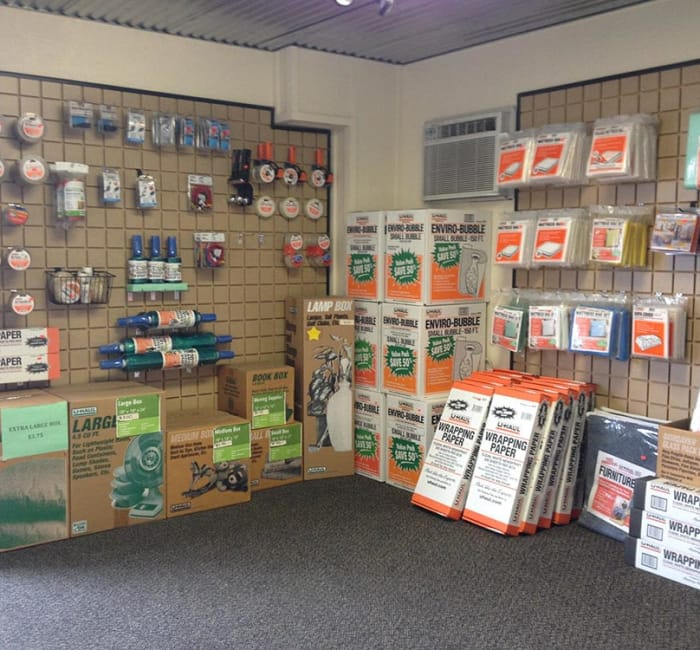 Packing supplies for sale at Tri Star Self Storage - Bosque in Waco, Texas