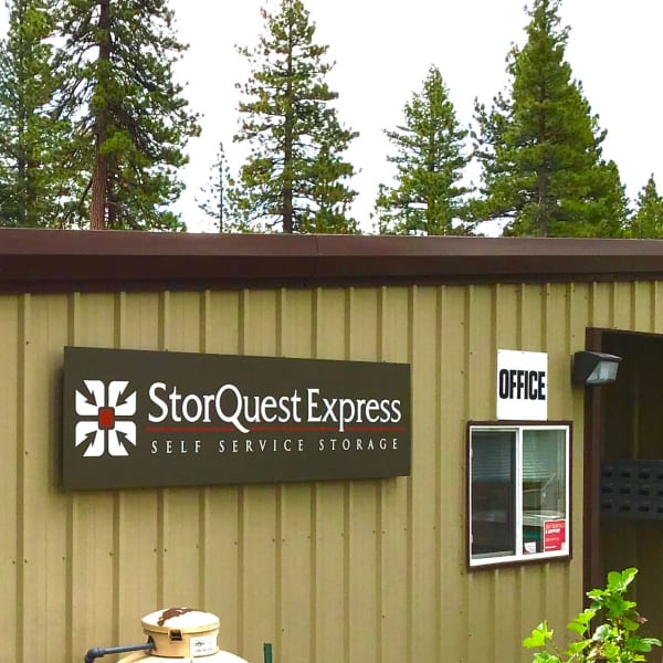 The leasing office at StorQuest Express - Self Service Storage in Tahoe Vista, California