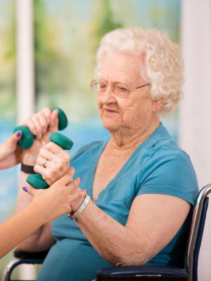 Health & Wellness at Chestnut Glen Senior Living in Saint Peters, Missouri