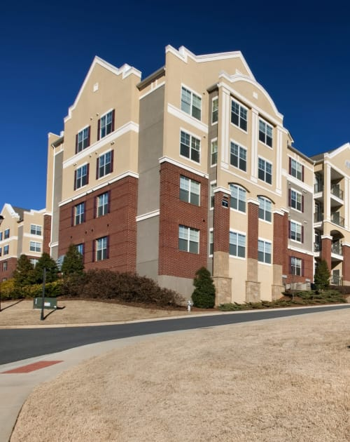 Street view of Parc Alpharetta in Alpharetta, Georgia
