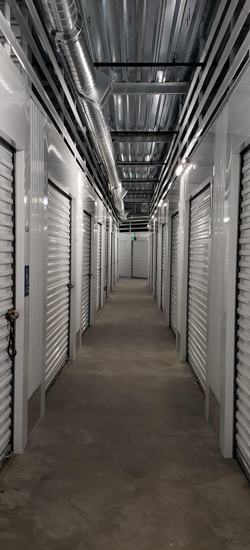 Indoor Storage Units at Cascade Self Storage in Roseburg, Oregon