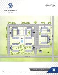 Site map of The Meadows on Ten in Warren, Michigan