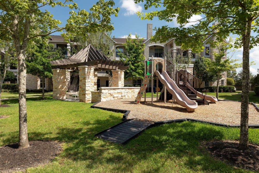Children's playground at The Retreat at Cinco Ranch in Katy, Texas