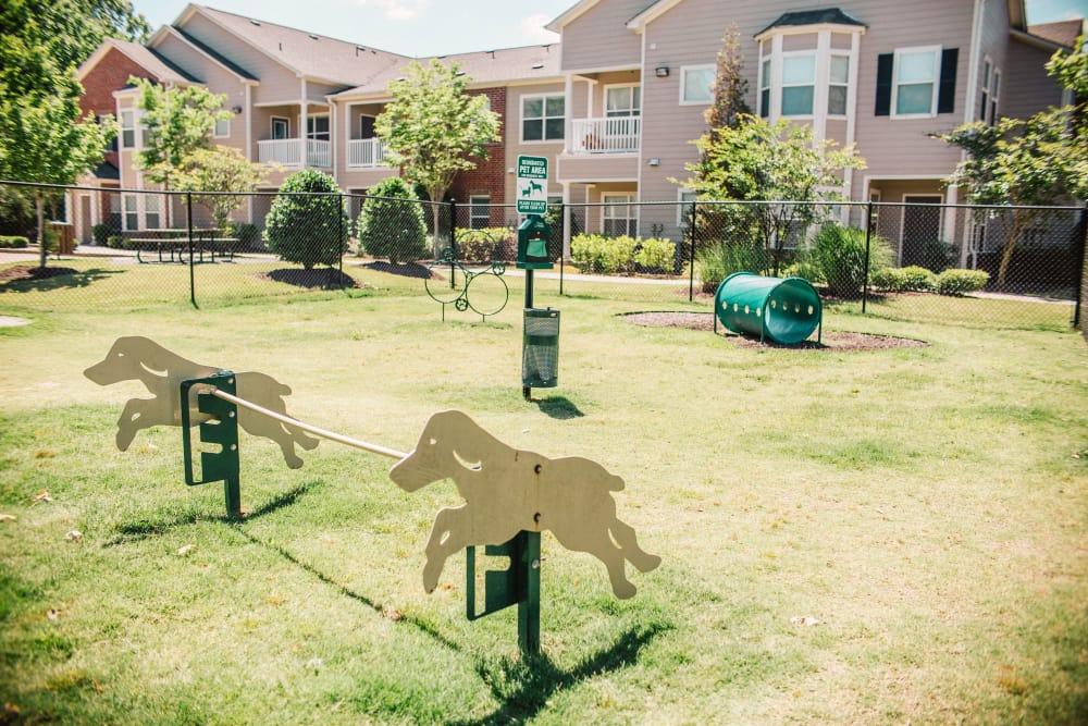 dog park at Villas at Houston Levee East