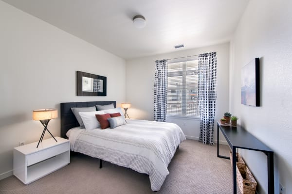 Bedroom at Elevate in Englewood, Colorado