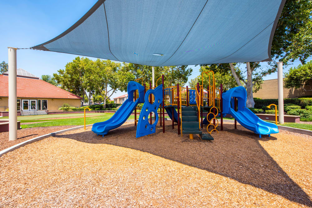 Covered playground at Alvista Terrace