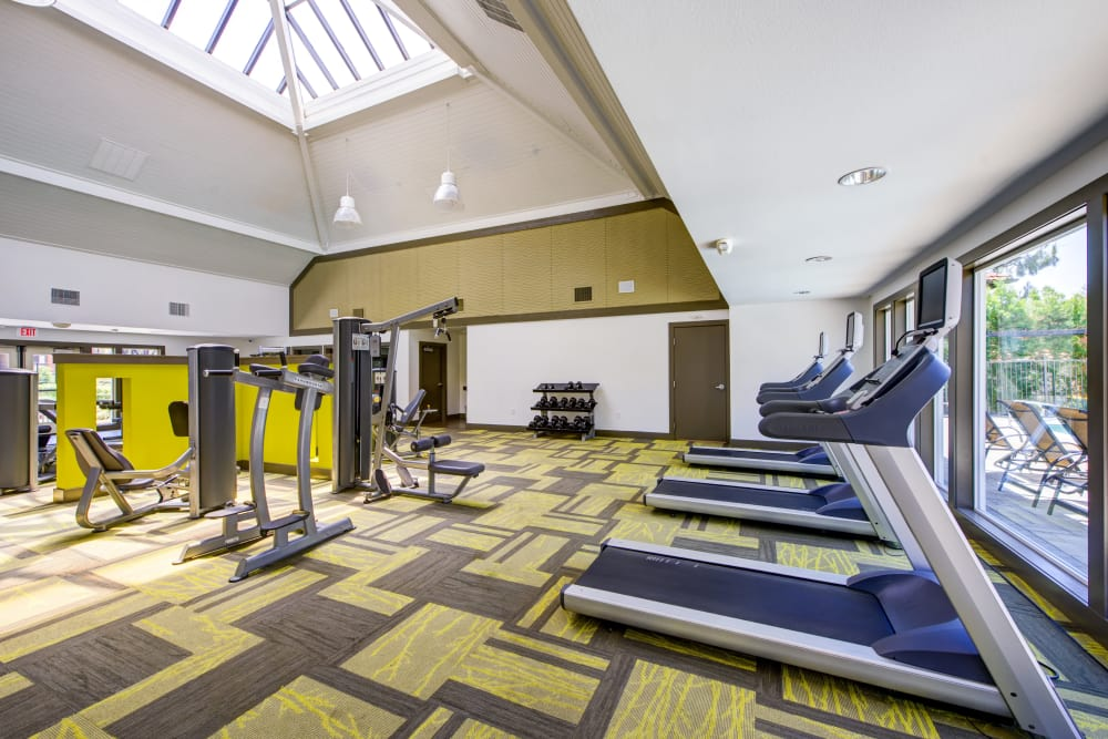 State of the art Fitness Center at Alvista Terrace