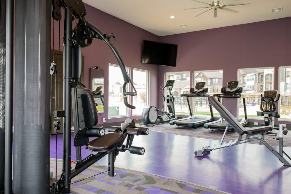 24-hour fitness center at Cedar Ridge in Tulsa, Oklahoma