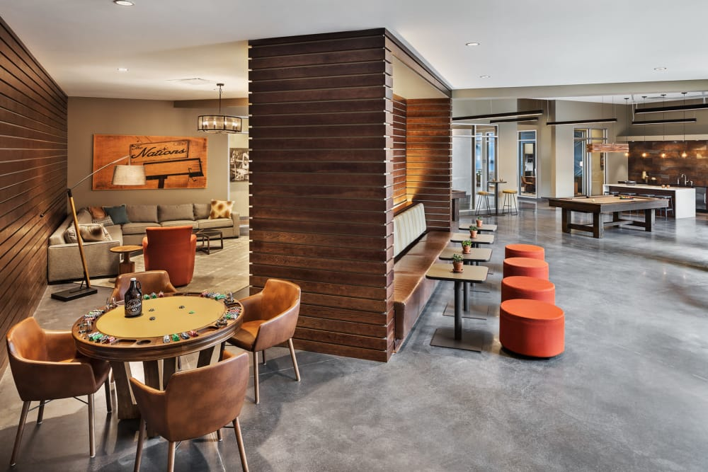 Station 40 offers a luxury clubhouse in Nashville, Tennessee