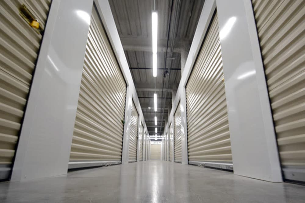 Interior units at Edgemark Self Storage in Glendale, Colorado