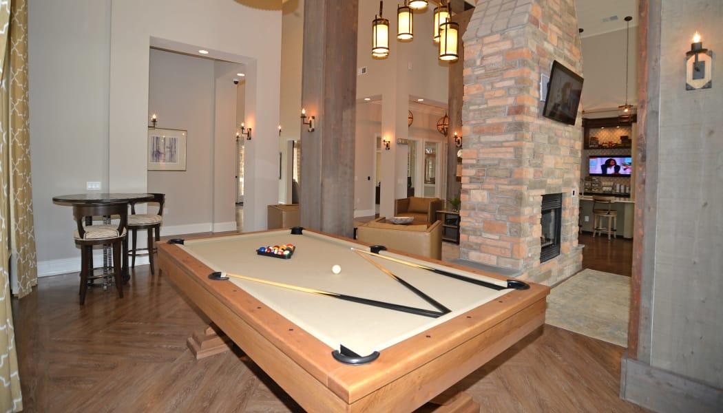 Pool Table at Red Knot at Edinburgh in Chesapeake, VA