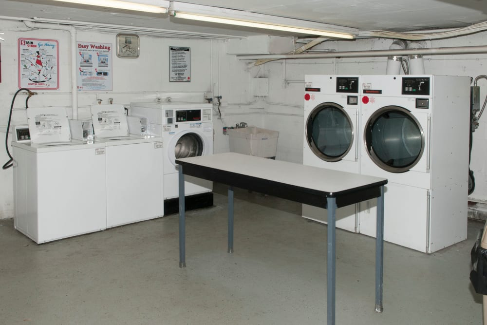 Laundry facility at 84-90 Essex Street in Hackensack, New Jersey
