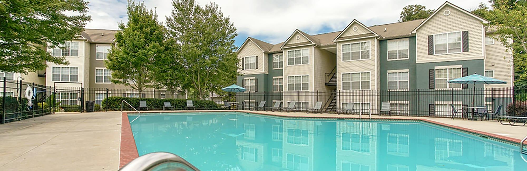 Apartments at Monterey Village in Jonesboro, Georgia