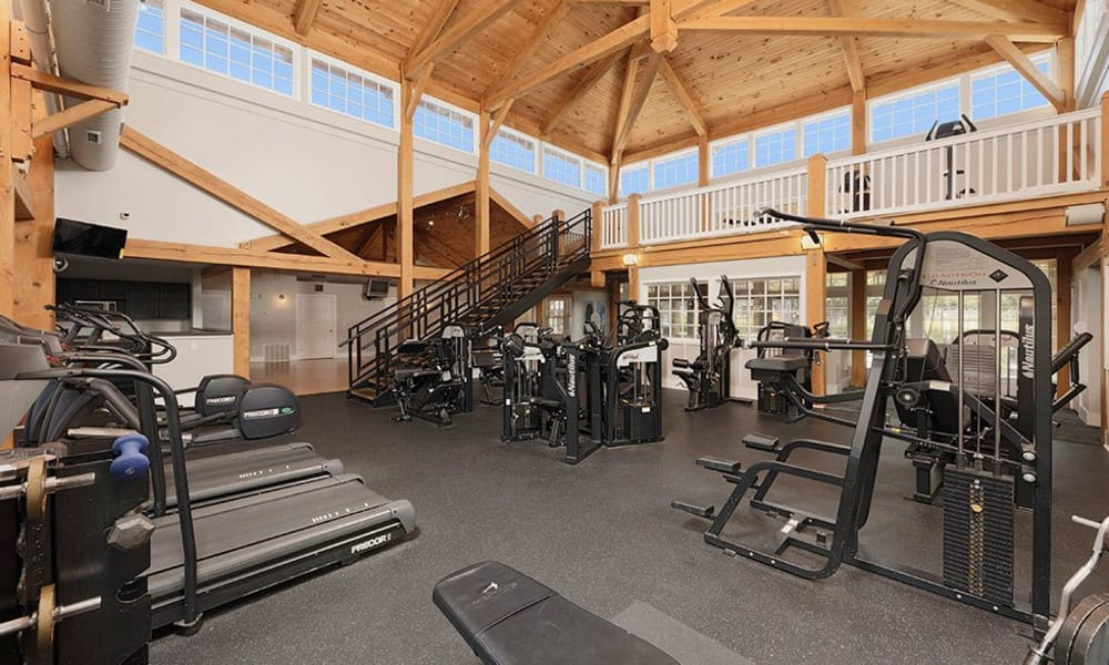 Atkins Circle Apartments's fitness center