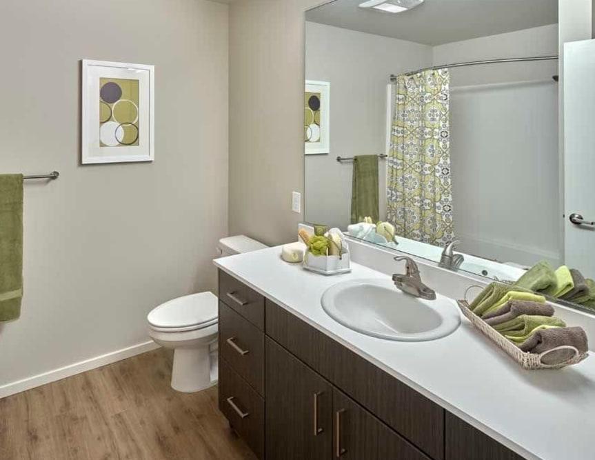 Bathroom at Apartments in Burien, Washington