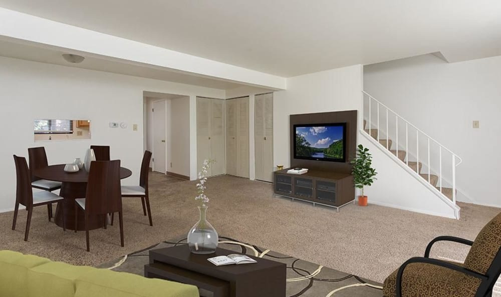Ample living space at High Acres Apartments and Townhomes in Syracuse, NY