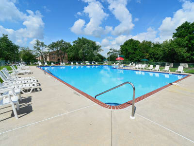 The Fairways Apartment Homes offers a swimming pool in Blackwood, NJ