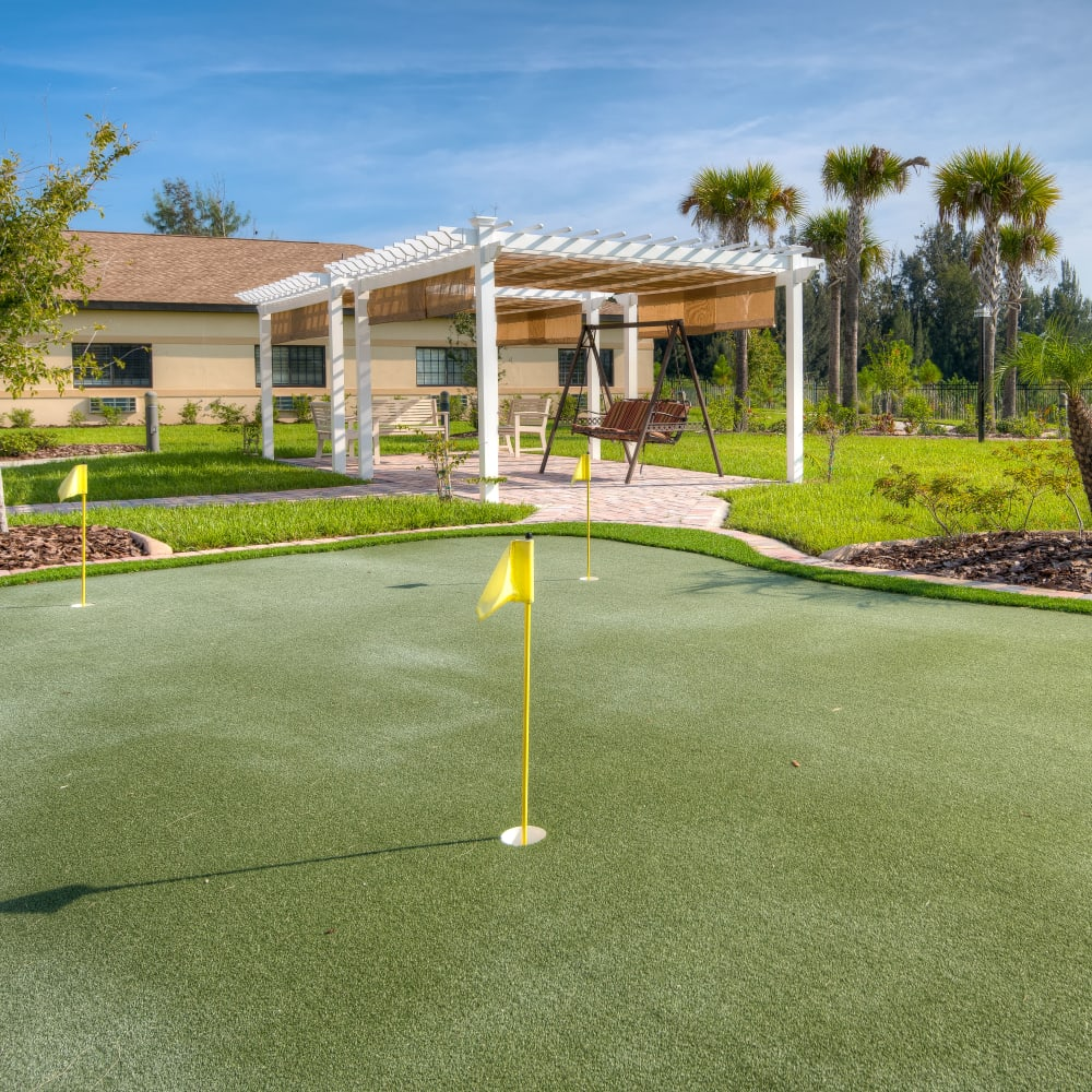 See what other amenities we offer at Inspired Living Hidden Lakes in Bradenton, Florida
