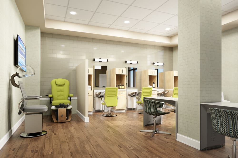 Onsite salon at Anthology of Mayfield Heights - OPENING 2020 in Mayfield Heights, Ohio
