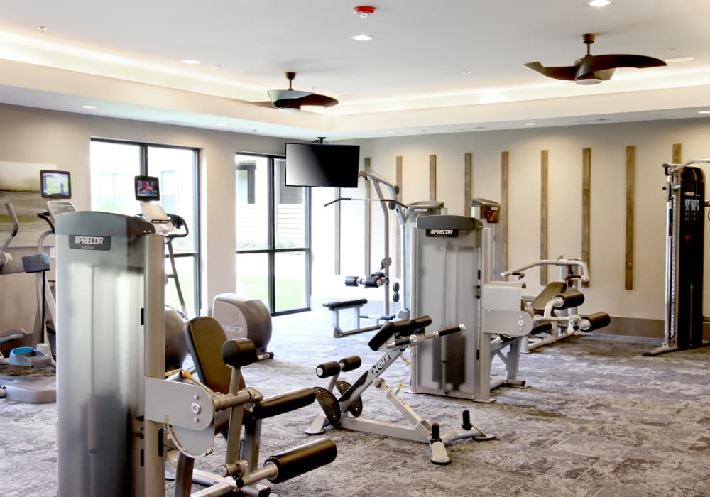 Axis at The Rim offers a state-of-the-art fitness center in San Antonio, Texas