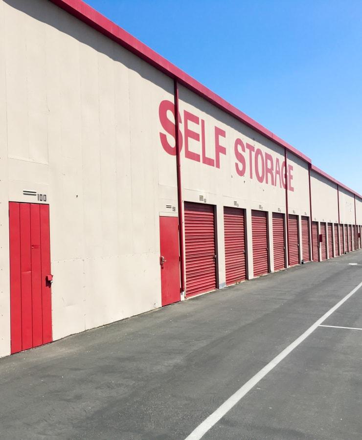 The exterior of at StorQuest Self Storage in Canoga Park, California