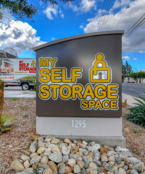 Link to our locations at My Self Storage Space