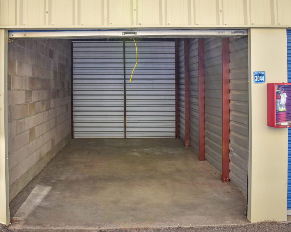 Enclosed auto storage at STOR-N-LOCK Self Storage in Aurora, Colorado