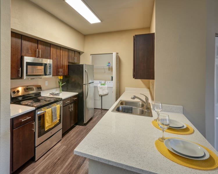 Click to see our floor plans at The Crossings at Bear Creek Apartments in Lakewood, Colorado