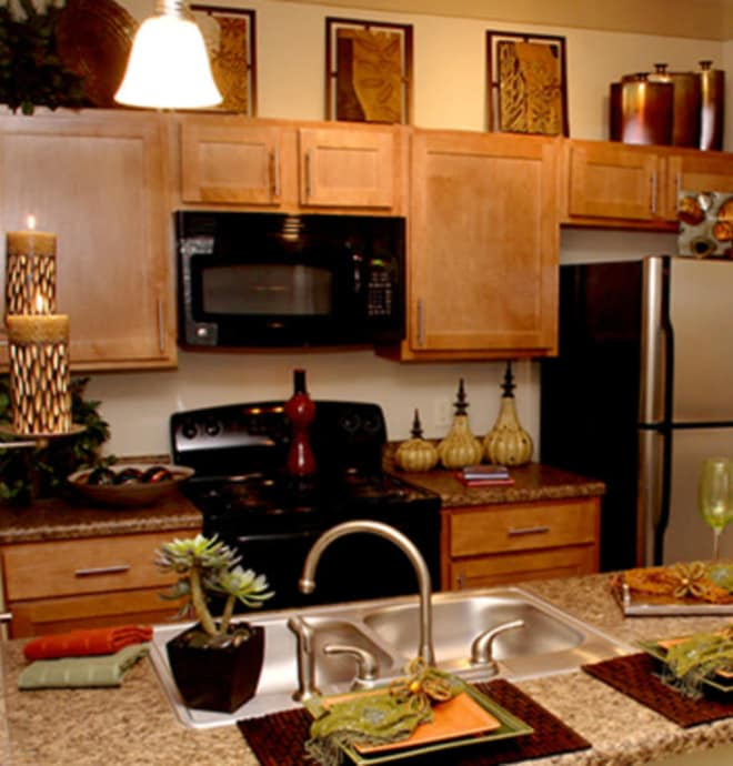 Learn more about the fabulous apartment features offered at Riverside at Rockwater