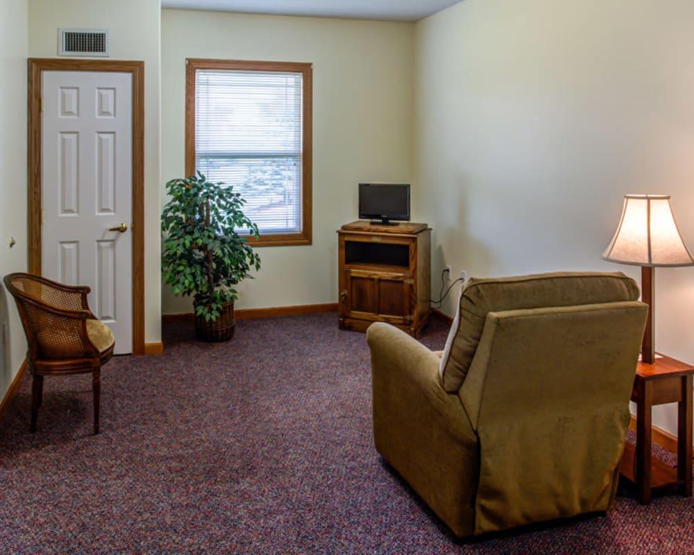 Bright floor plans at Prairie Hills in Tipton, Iowa.