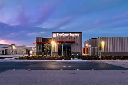 Night View Of StorQuest Express   Self Service Storage In Tracy, CA