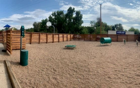 Dog Park at Eagle Crest Apartments in Lakewood, Colorado