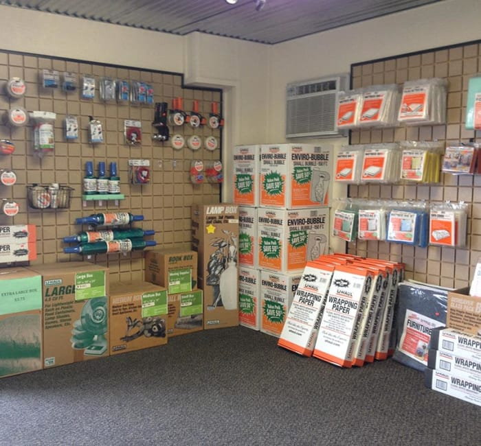 Packing supplies for sale at Tri Star Self Storage - Clark in Waco, Texas