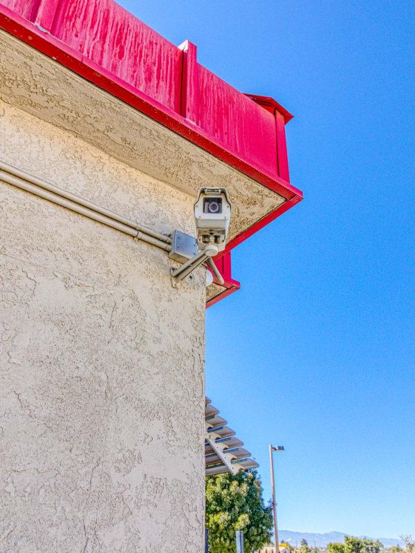Video surveillance in Apple Valley, California at Devon Self Storage