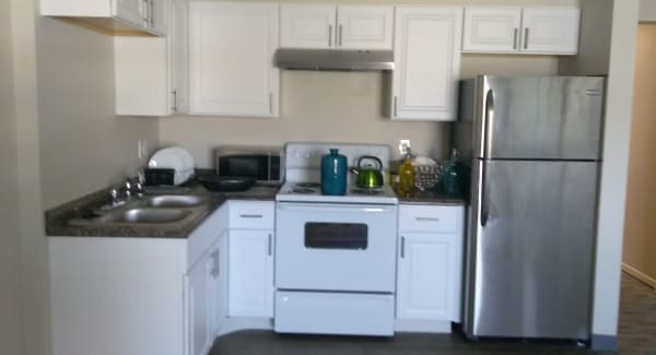 Kitchen at The Trees in Denver, Colorado
