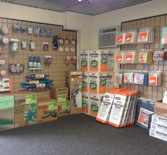 Packing supplies for sale at Tri Star Self Storage - Hewitt in Hewitt, Texas