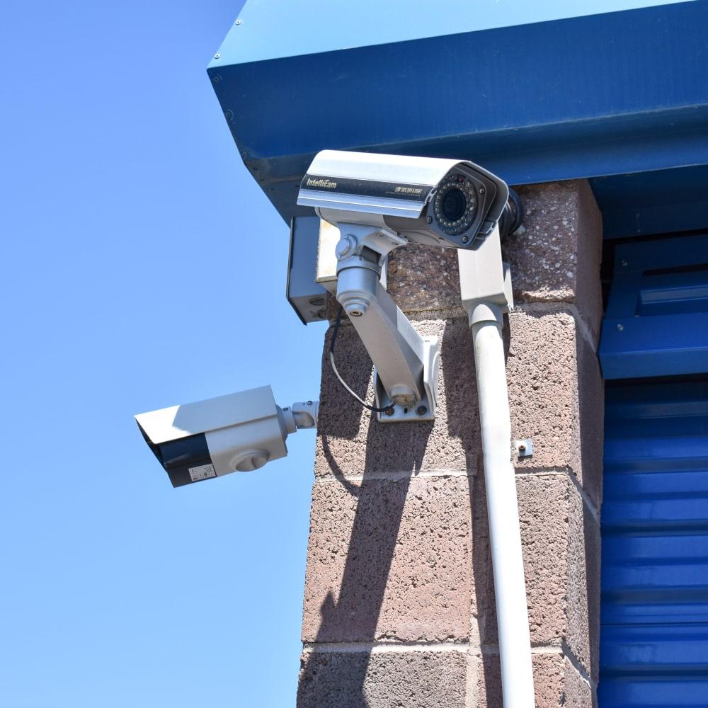 Video surveillance cameras at STOR-N-LOCK Self Storage in Boise, Idaho