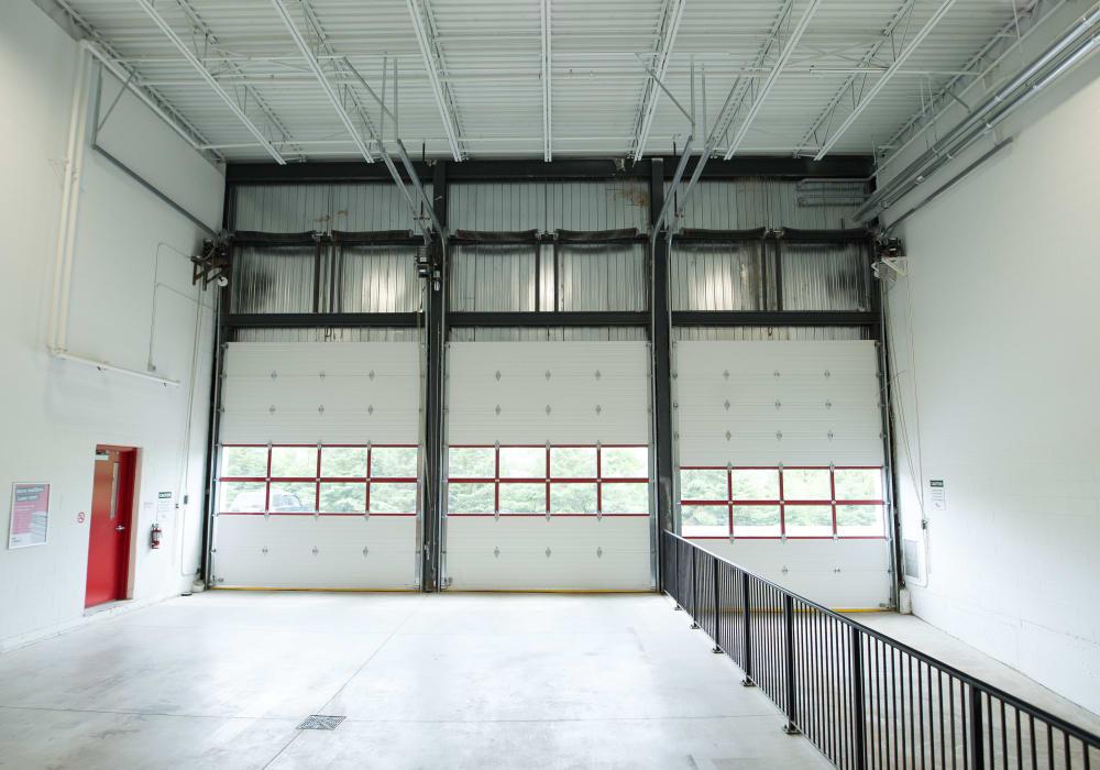 Loading area at Apple Self Storage - Kitchener - Highland in Kitchener, Ontario