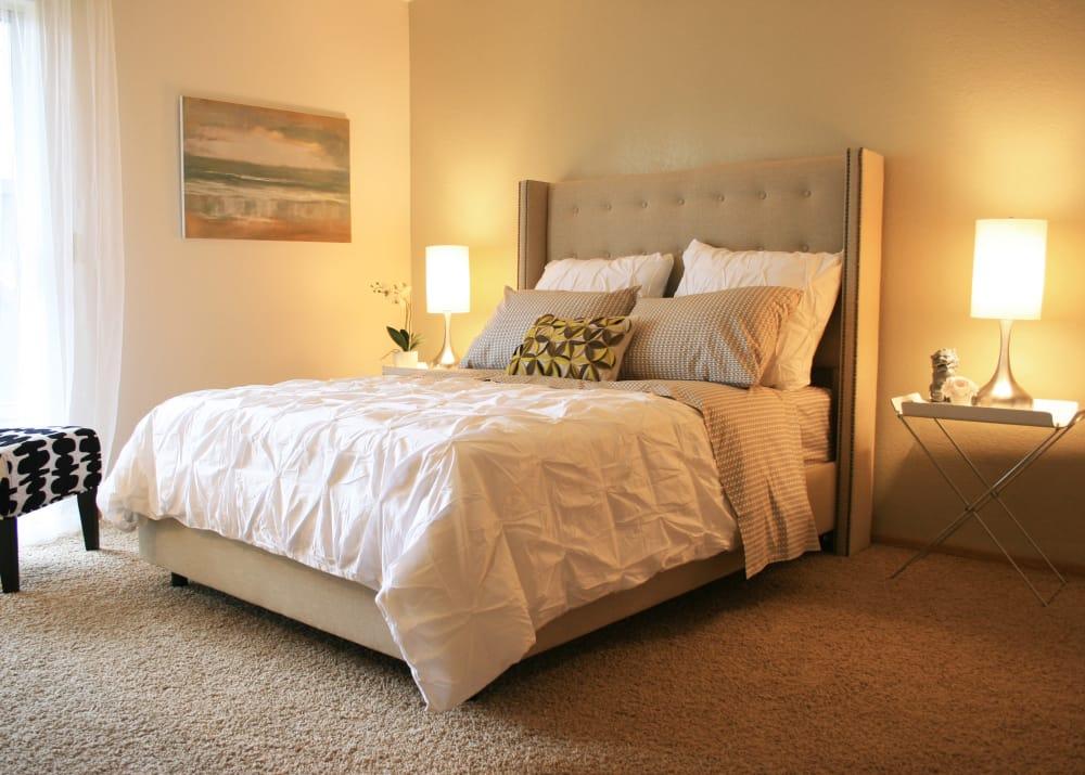 Bedroom at Bridge Creek Apartments in Vancouver,Washington