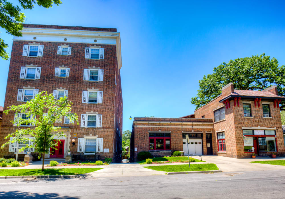 Community amenities at Concord & Castle in Des Moines, Iowa