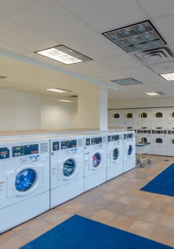 Laundry facility at Rochester Highlands in Rochester